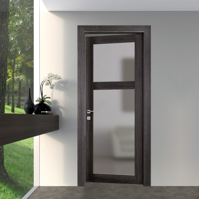 Baltimora New - Porta battente 2026V2 rovere grey | Infisystem